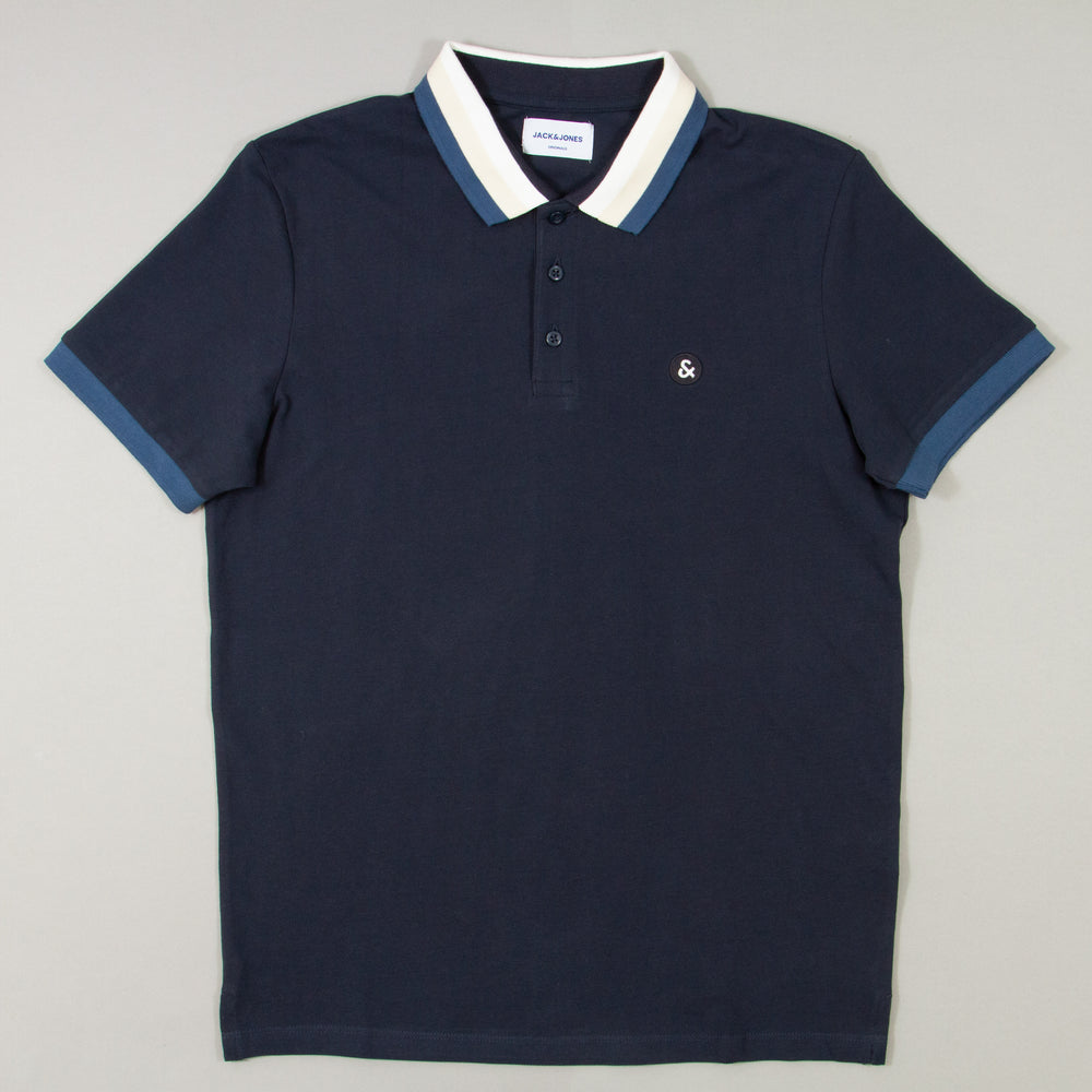 Short Sleeve Polo in TOTAL ECLIPSE