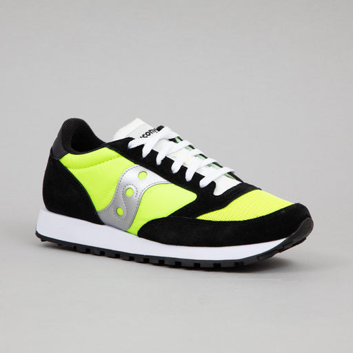 Jazz Original Vintage Trainers in NEON, BLACK & SILVER