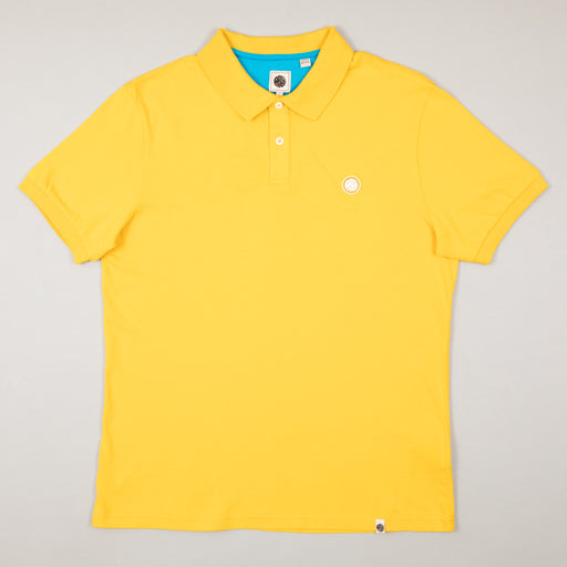 Jersey Polo Shirt in YELLOWPRETTY GREEN - CACTWS