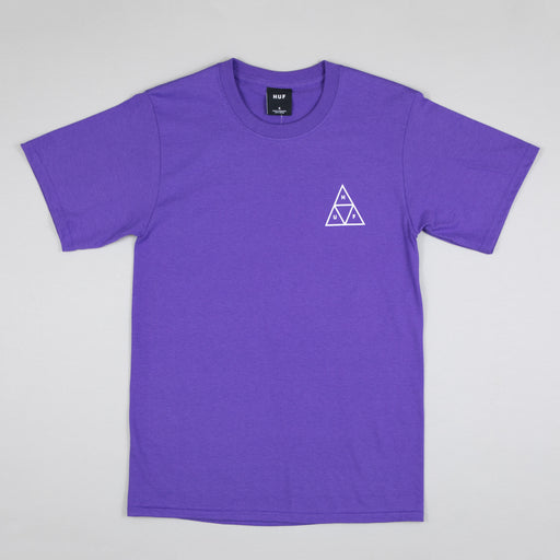 Jungle Cat Triple Triangle T-Shirt in GRAPE