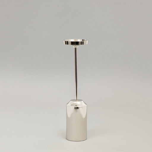 KIBOGA Nickel Tealight Holder in MEDIUM