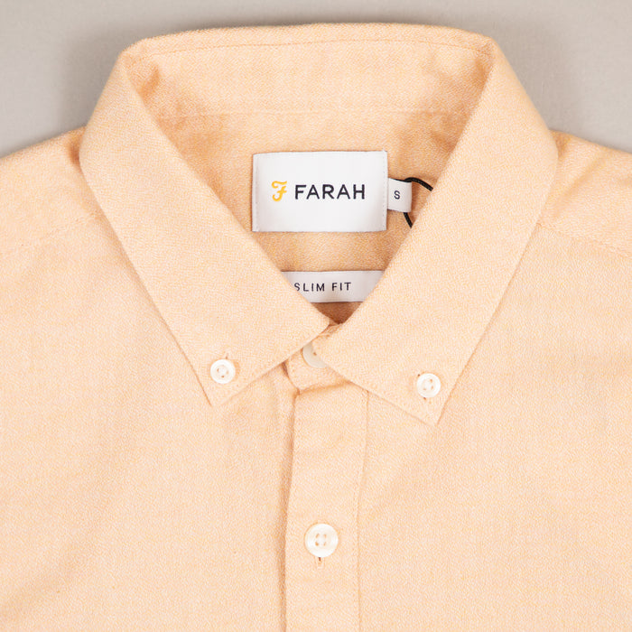 Kreo Short Sleeve Shirt in APRICOTFARAH - CACTWS