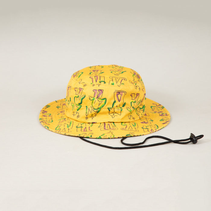 LUCAS BEAUFORT Bucket Hat in YELLOWBRIXTON - CACTWS
