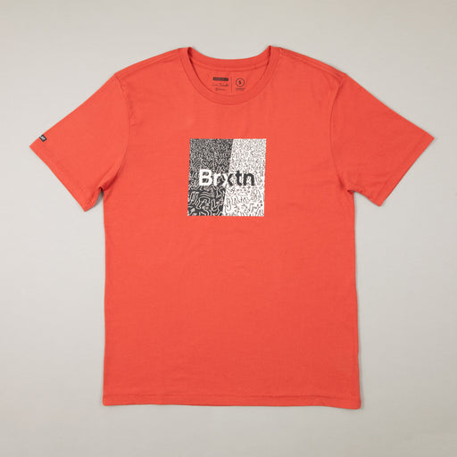 LUCAS BEAUFORT Crowd Art T-Shirt in CORALBRIXTON - CACTWS