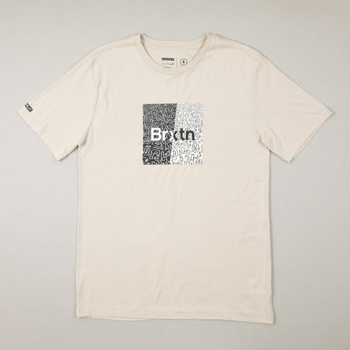 LUCAS BEAUFORT Crowd Art T-Shirt in STONEBRIXTON - CACTWS