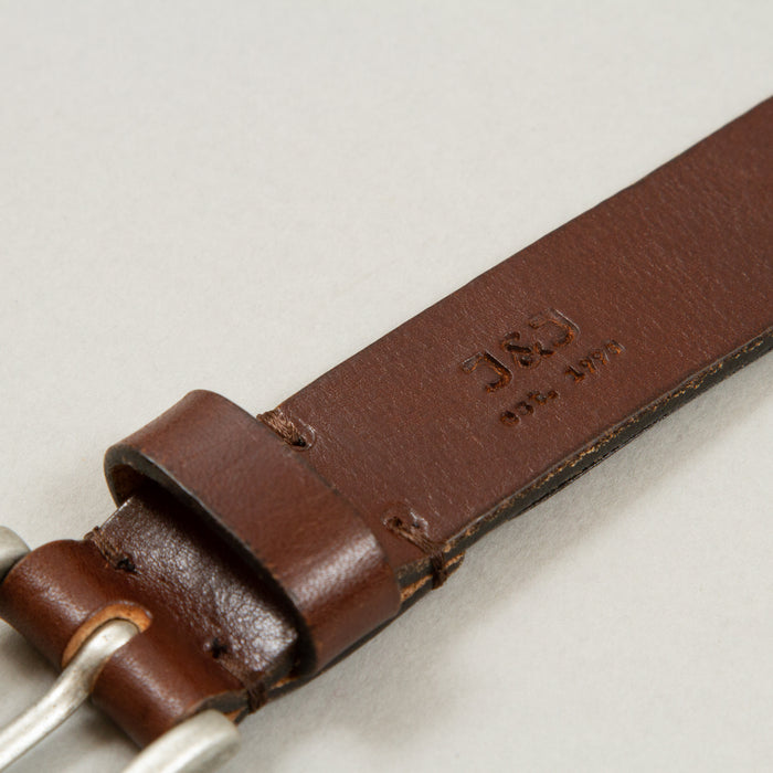 Lee Leather Belt in BLACK COFFEEJACK & JONES - CACTWS