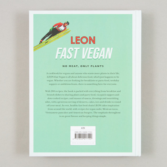 Leon: Fast Vegan By Rebecca Seal, Chantal Symons & John VincentBOOKSPEED - CACTWS