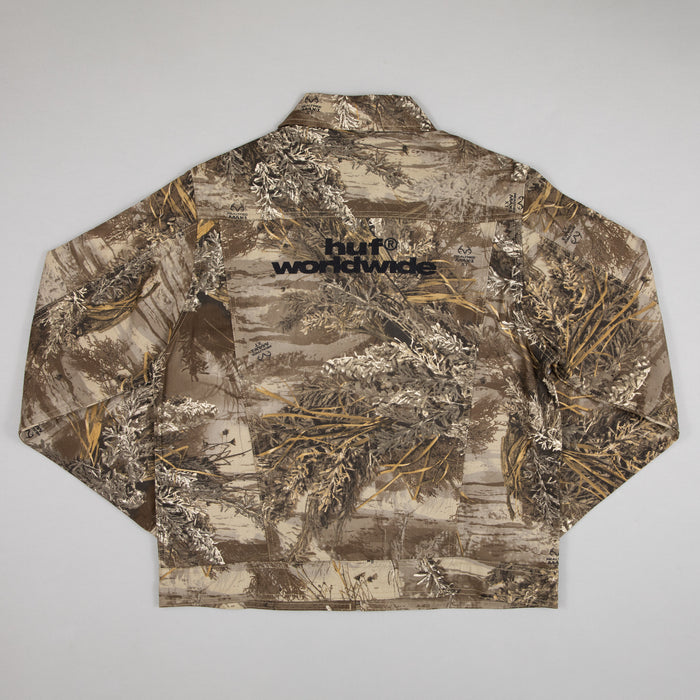 HUF Lincoln Trucker Jacket in REALTREE MAX