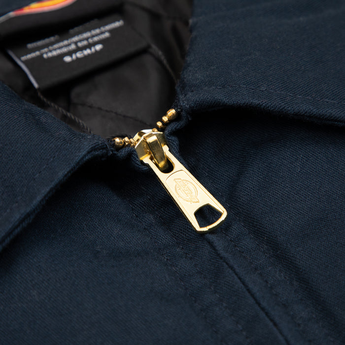 Lined Eisenhower Jacket in DARK NAVY