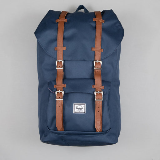 Little America Backpack in NAVY & TAN