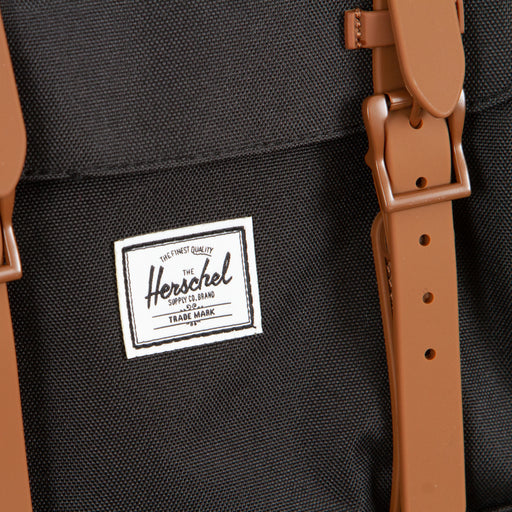 Little America Backpack in BLACK & SADDLE  BROWNHERSCHEL SUPPLY CO. - CACTWS