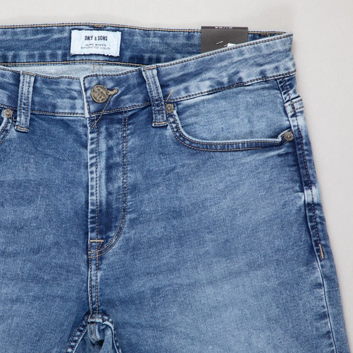ONLY & SONS Loom Slim Fit Jeans in BLUE JOG