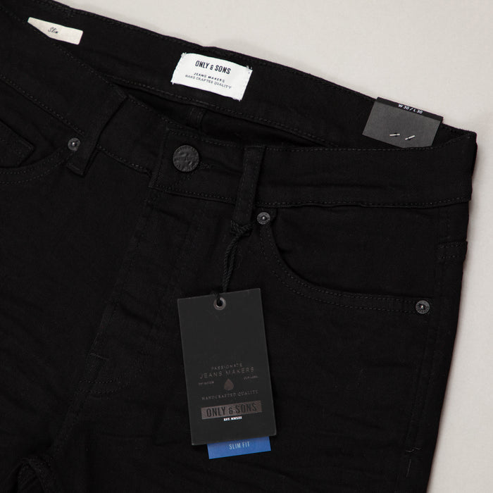 Loom Slim Fit Noos Jeans in BLACKONLY AND SONS - CACTWS