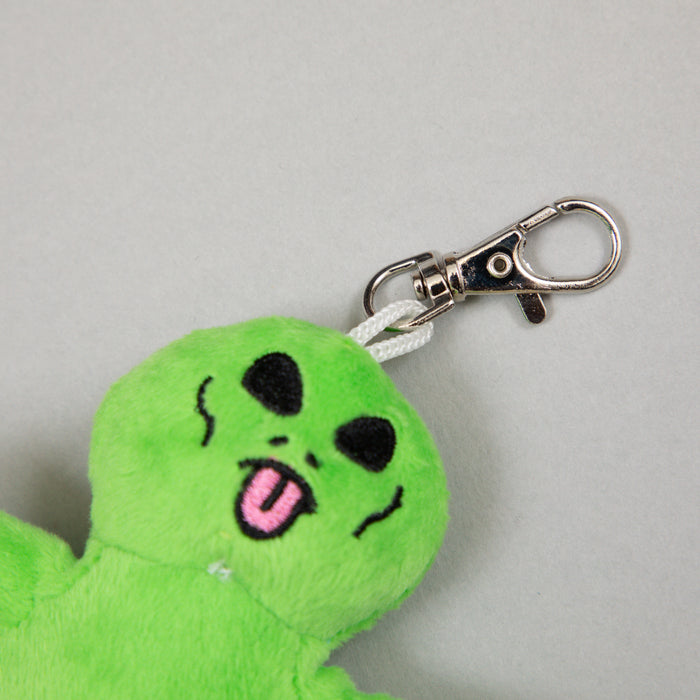 Lord Alien Mini Plush Keychain in GREEN