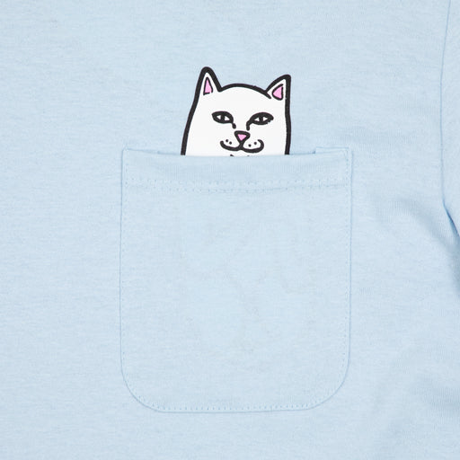 Lord Nermal Long Sleeve Tee in BABY BLUERIPNDIP - CACTWS