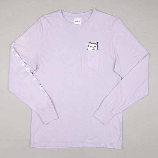Lord Nermal Long Sleeve Tee in LAVENDER