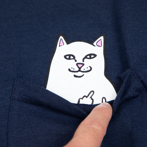 Lord Nermal Long Sleeve Tee in NAVY