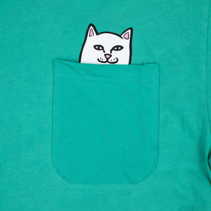 RIPNDIP Lord Nermal Long Sleeve T-Shirt in TEAL