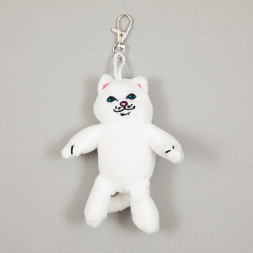 Lord Nermal Plush Keychain in WHITERIPNDIP - CACTWS