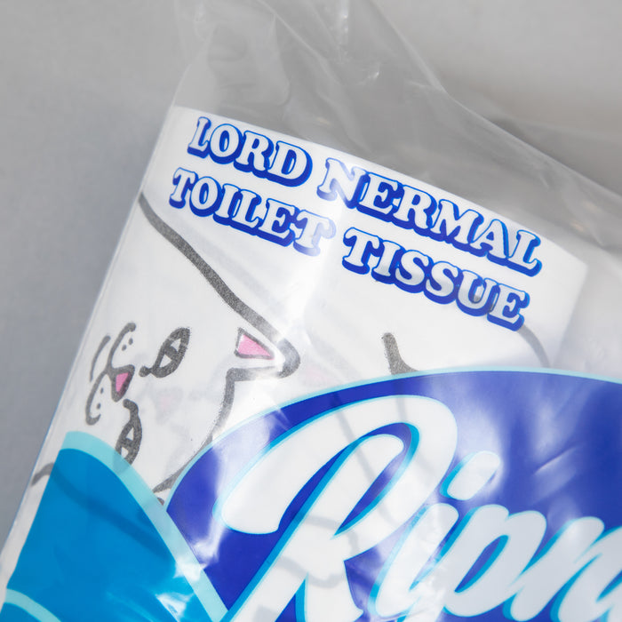 RIPNDIP Lord Nermal Toilet Paper in WHITE
