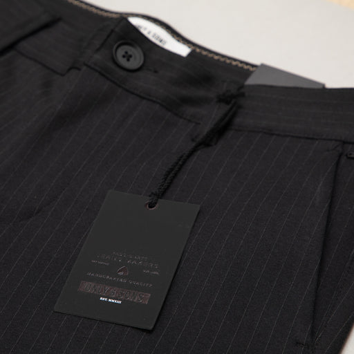 Mark Striped Pant in BLACKONLY AND SONS - CACTWS