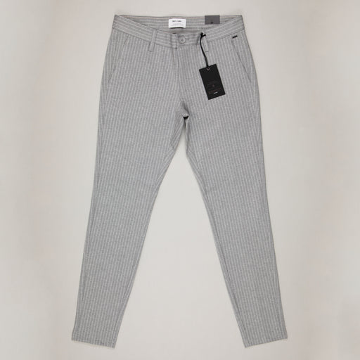 Mark Striped Pant in LIGHT GREY MELANGEONLY AND SONS - CACTWS