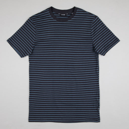 ONLY & SONS Mick Life Striped T-Shirt in DARK NAVY