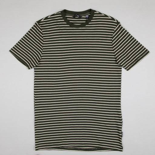 Mick Life Striped Tee in ROSIN