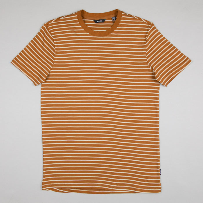 Mick Life Striped Tee in RUBBER