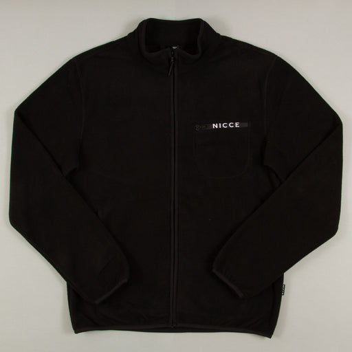 Verso Zip Thru Fleece in BLACKNICCE - CACTWS