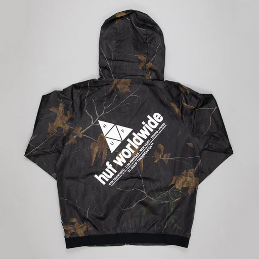 HUF Network Lightweight Jacket in REALTREE BLACK
