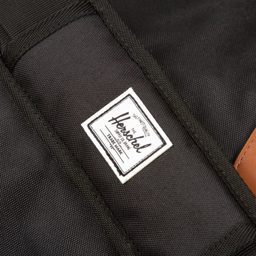 Novel Duffle Bag in BLACK & TAN SYNTHETIC LEATHERHERSCHEL SUPPLY CO. - CACTWS