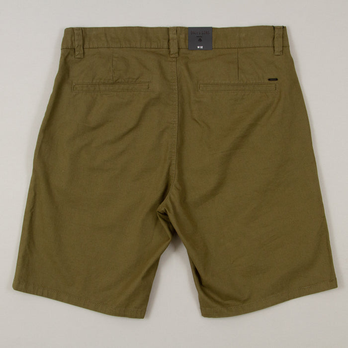 Cam Chino Entry Shorts in OLIVE NIGHT