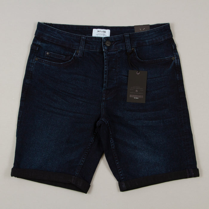 Ply 2448 Shorts in BLUE DENIMONLY AND SONS - CACTWS