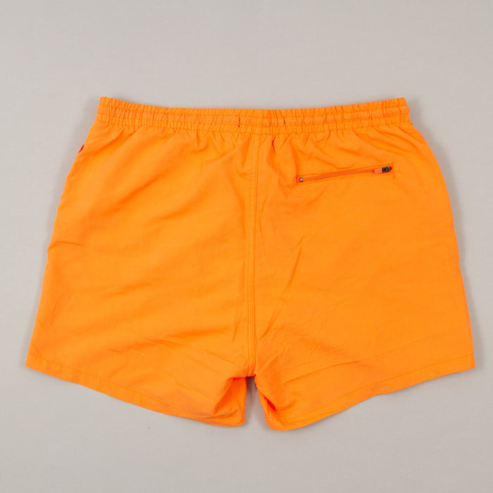 Tan Swimshorts in CORAL ROSE