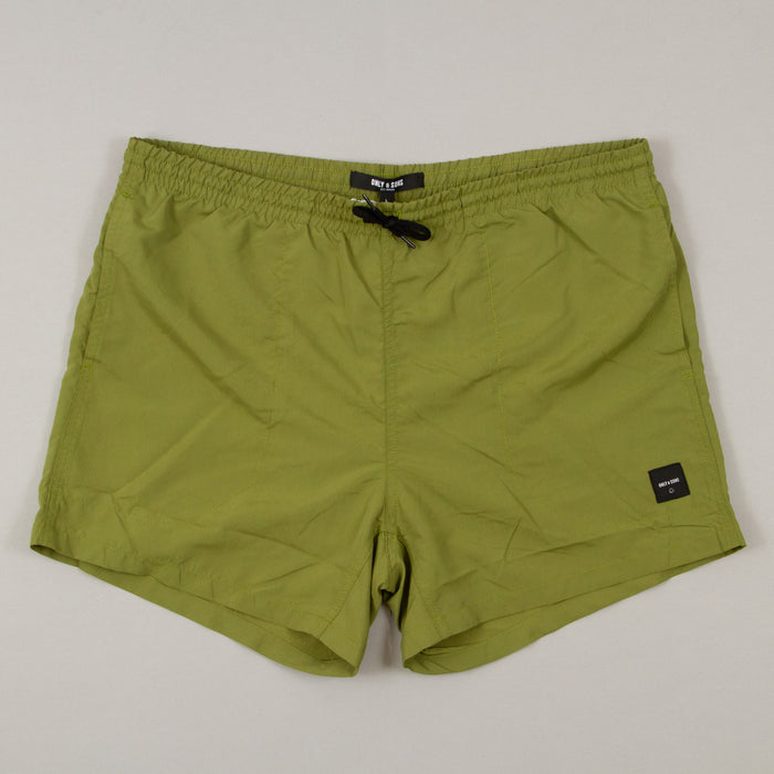 Tan Swimshorts in OLIVE BRANCHONLY AND SONS - CACTWS
