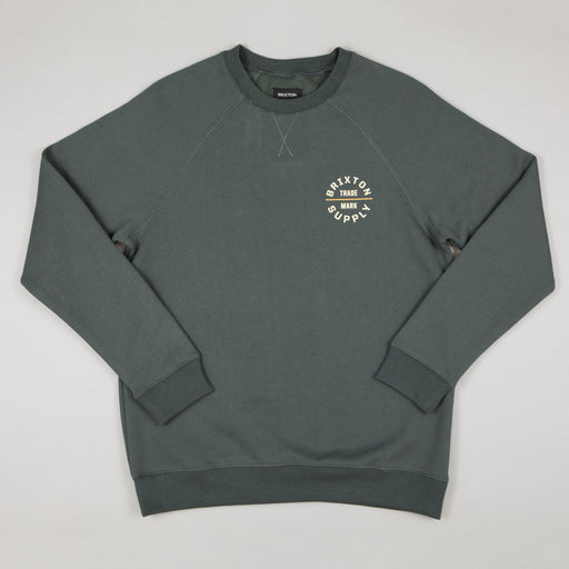 Oath V Crew Sweatshirt in EVERGREEN