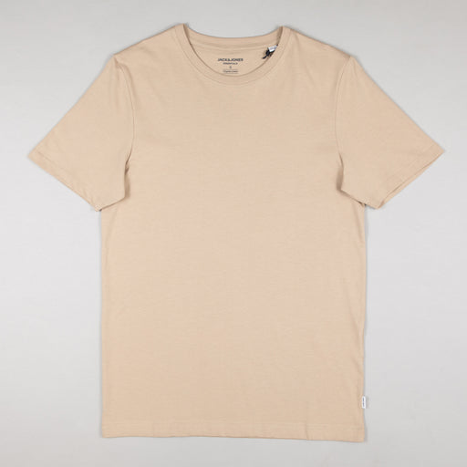 JACK & JONES Organic Basic Tee in CROCKERY