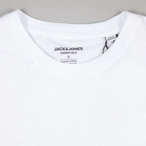 JACK & JONES Organic Basic Tee in WHITE