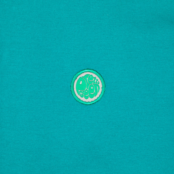 Paisley Print Collar Polo in GREENPRETTY GREEN - CACTWS