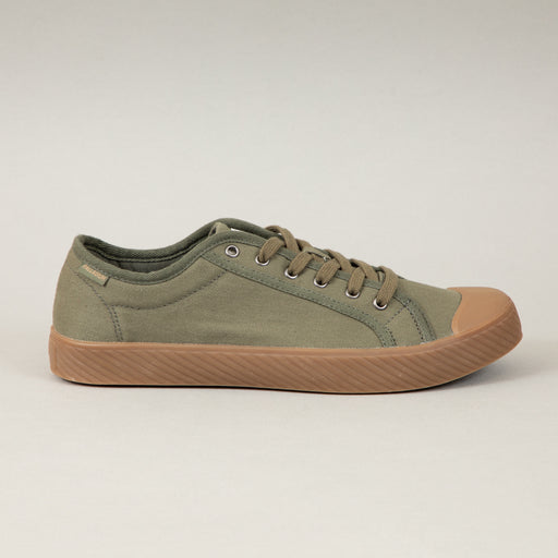 Pallaphoenix OG Canvas Trainer in OLIVE NIGHTPALLADIUM - CACTWS