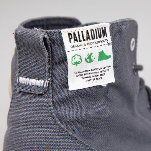 Pampa Hi Organic Boot in ASPHALTPALLADIUM - CACTWS