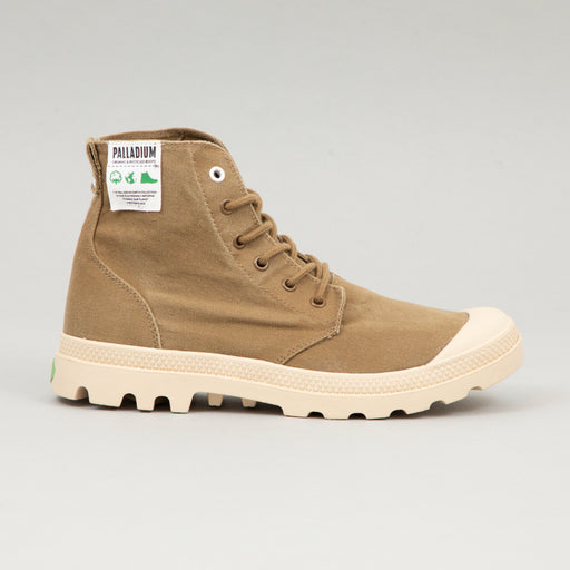 PALLADIUM Pampa Hi Organic Boots in BUTTERNUT BROWN