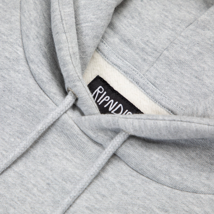 RIPNDIP Peeking Nermal Hoodie in HEATHER GREY