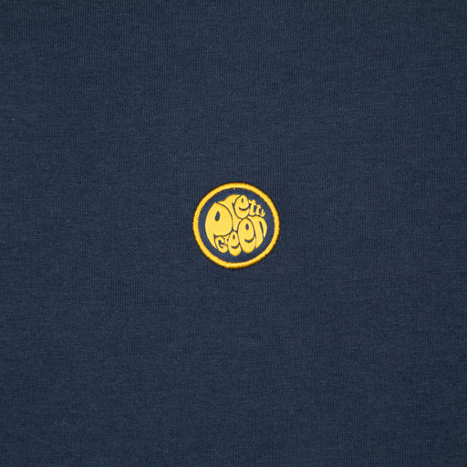 Piping Tipped Tee in NAVY & YELLOWPRETTY GREEN - CACTWS