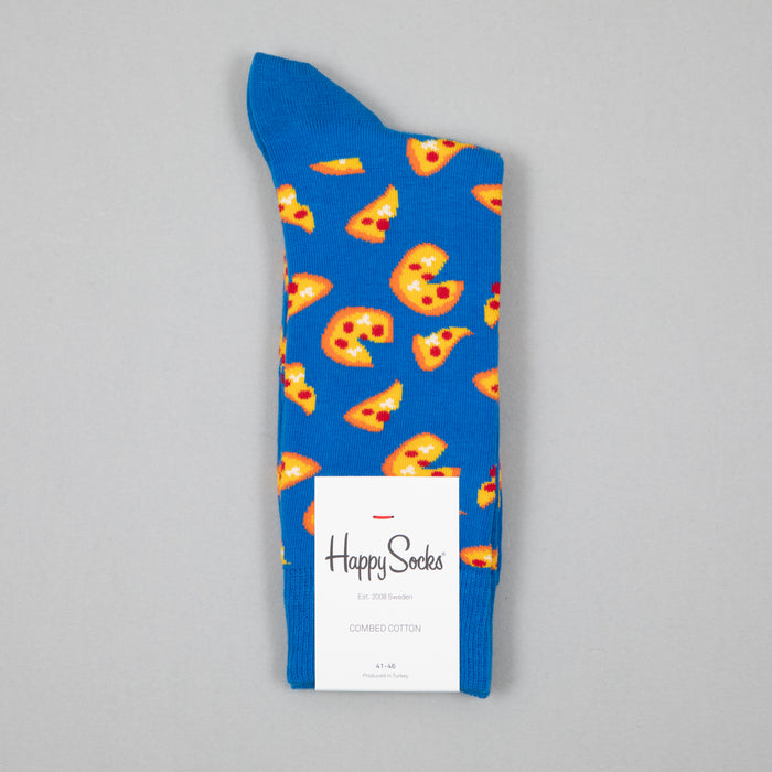 Pizza Socks in BLUEHAPPY SOCKS - CACTWS