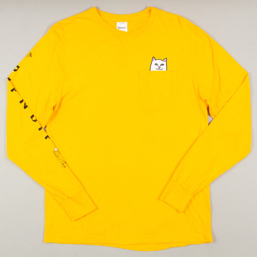 Lord Nermal Long Sleeve Tee in GOLDRIPNDIP - CACTWS