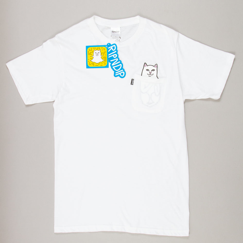 Lord Nermal Tee in WHITERIPNDIP - CACTWS
