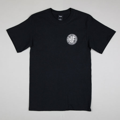 Regional Puff Short Sleeve Tee in BLACK