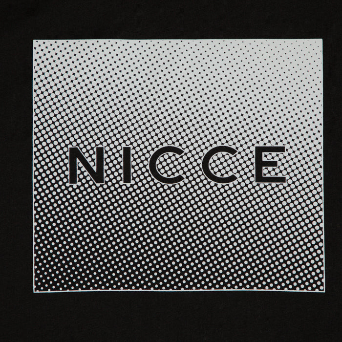 NICCE Rhombus T-Shirt in BLACK